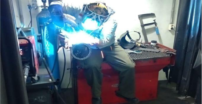 Dasar pengelasan arc welding